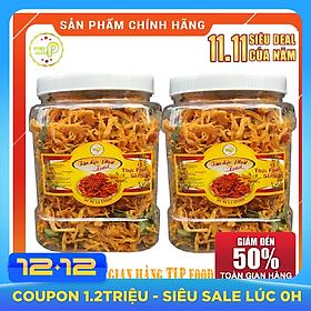 1kg Khô gà lá chanh thượng hạng hiệu Tân Lộc Phát
