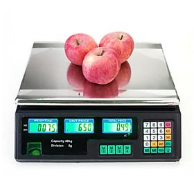 Cân điện tử đa năng - Cân hàng hóa chuyên dụng tải trọng 40kg (Tặng móc dán treo đồ nhà bếp giao ngẫu nhiên)
