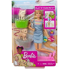 Barbie Cùng Thú Cưng Tinh Nghịch FXH11