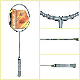 Vợt cầu lông tập luyện Sunbatta Nhật Bản Tour 1200 Chất liệu Cacbon High Modulus Graphite - Dành cho trẻ em và người lớn - Chưa đan lưới- Trọng lượng 83 gram- Có sẵn bao vợt quấn cán