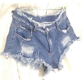 Quần short jean nữ thời trang OEM