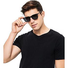 Mắt kính râm thời trang MK150, mắt kính thời trang sang trọng phù hợp cả nam và nữ - Màu đen