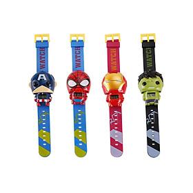 Bộ 4 chiếc Đồng hồ siêu anh hùng cho bé