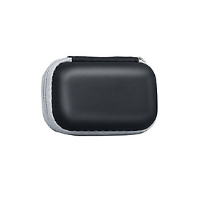 Pulse Oximeter Protective Bag Travel Case for Fingertip PU Water Resistant Shockproof Storage Box Compatible with Blood