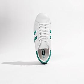 Giày thể thao nữ trắng đi học đi chơi thiết kế năng động đế êm ái ROZMODA GI04