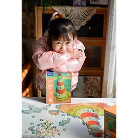 đồ chơi xếp hình 1000 mảnh chính hãng Mideer - Ngọn Hải Đăng