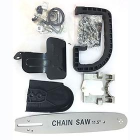 Bộ Lưỡi Cưa Xích Gắn Máy Cắt Mài Cầm Tay Chain Saw 11.5 Inch