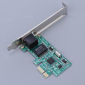 Single Port Gigabit Ethernet NIC PCI E Network Adapter Card for PC