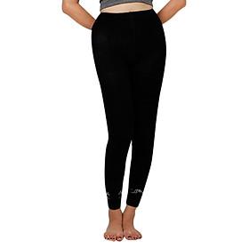 Quần Leggings Nữ Zappy VM106 - Đen