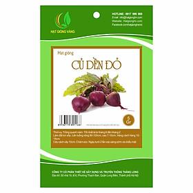 Hạt giống Củ dền đỏ Golden Seeds 5 Gr