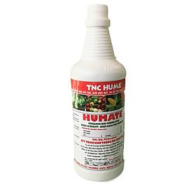 Phân Bón Lá Nhập Khẩu MỸ Chuyên Dưỡng Rể HUMATE chai 1 lít, Bổ sung hàm lượng cao Axid Fulvic và chất hữu cơ, Dùng cho tất cả các loại cây trồng