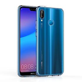 Ốp lưng silicone dẻo trong suốt dành cho Huawei Nova 3E