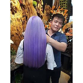 Combo Uốn/Duỗi/Nhuộm + Hấp Collagen Tại Labella Hair Salon