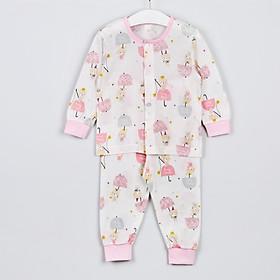 Bộ quần áo bé gái nhập khẩu đẹp Hàn Quốc