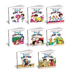 Combo sách: Bài thơ - bài hát - câu đố dành cho bé (tái bản 2020)