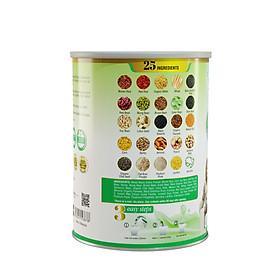 Sữa hạt ngũ cốc 25 Green Nutri lon 750g