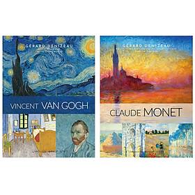 Combo Sách Về Những Danh Họa Vĩ Đại : Vincent Van Gogh + Claude Monet