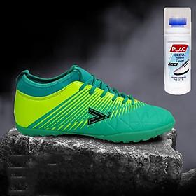 Giày bóng đá Mitre MT161110 màu xanh ngọc - Tặng bình làm sạch giày cao cấp