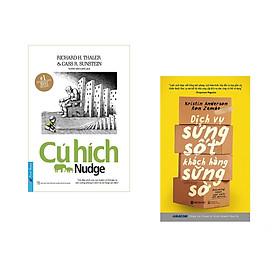 Combo 2 cuốn sách: Cú Hích + Dịch vụ sửng sốt khách hàng sững sờ