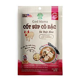Cốt súp cô đặc - Từ Thịt Heo - Nấu nước dùng heo tiện lợi - Túi 35gr - Số 1 tại Mỹ - Tiêu chuẩn FDA - Tiện lợi cho bữa ăn gia đình - An toàn cho sức khỏe