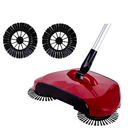 Home Use Cleaning Tool Side Brush for Magic Manual Telescopic Floor Dust Sweeper