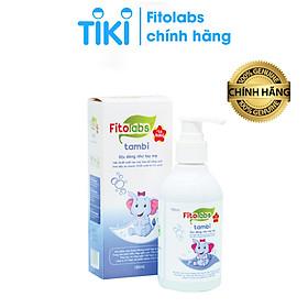 Nước tắm gội Thảo dược Fitolabs Tambi cho trẻ sơ sinh và trẻ nhỏ