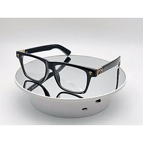 Kính Xinh, Kính Mắt vuông  Mắt vuông bản to thời trang CHT01 + tặng tuavit Kính Xinh mini