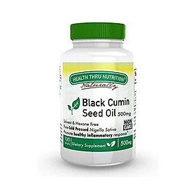 Black Cumin Seed Oil - Non-GMO - 500mg 100 Softgels First Cold Pressed