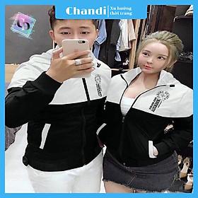 Áo Khoác Dù Nam Nữ Unisex , thời trang thu đông thương hiệu Chandi chất liệu thấm hút mồ hôi dày dặn mặc thoáng mát KD13