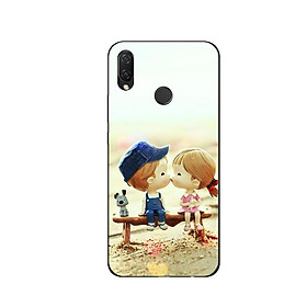 Ốp Lưng Dẻo Cho Điện thoại Huawei Nova 3i - Kiss Love 03
