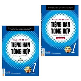 Combo Tiếng Hàn Tổng Hợp Dành Cho Người Việt Nam - Sơ Cấp 1: Gíao Trình (Bản Màu) + Sách Bài Tập (Bộ Sách Hoàn Hảo Tạo Nền Tảng Chinh Phục Tiếng Nhật Thành Công / Tặng Kèm Bookmark Green Life)