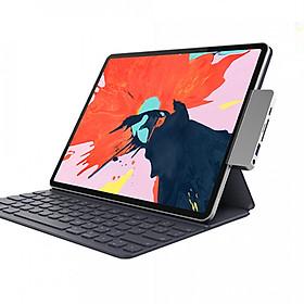 """Cổng Chuyển Chuyên Dụng Hyperdrive USB-C Hub for iPad Pro 2018/ Macbook Pro/ Air 13""""2018/ Laptop USB-C/ Tablet/ Smartphone USB-C - Hàng chính hãng"""