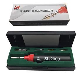 Mỏ hàn khò gas V3 SL-2000k (Tặng miếng thép đa năng 11in1)
