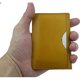 Bóp ví nam da bò đựng thẻ ATM, namecard,CMND dòng sản phẩm cầm tay trẻ trung năng động BA00101
