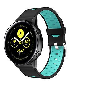 Dây Cao Su Colour 4 Size 20mm cho Galaxy Watch Active 1, Galaxy Watch Active 2, Galaxy Watch 42, Huawei Watch 2, Ticwatch, Amazfit, Garmin