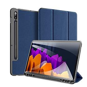Bao da chống sốc cho Samsung Galaxy Tab S7 T870/ T875 thương hiệu DUX DUCIS Domo Series cao cấp - Hàng nhập khẩu.