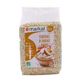 Yến mạch cán mỏng hữu cơ Markal 500g
