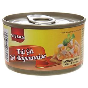 Combo 4 hộp Thịt Gà Xốt Mayonnaise Vissan (85g)