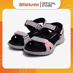 Sandal Nữ Biti's Hunter Silver Pink DEWH00800XAM (Xám)