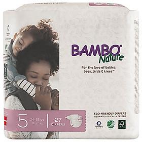 Combo 3 gói Tã Dán Em Bé Hữu Cơ Bambo Nature - gốc Đan Mạch - 11-25kg - XL27 - 27 miếng