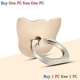 Two PCS 2pcs buy 1PC free 1PC Ring-holder and stand for phone and tablet-gold, silver, black Ring Stand Holder Grip Hand Holder