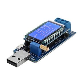 Máy Đo Vôn Kế Và Ampe Kế Cổng USB Có Màn Hình LCD Có Thể Điều Chỉnh Năng Lượng Lên/ Xuống - Nhiều Màu