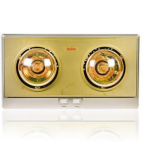 Đèn sưởi nhà tắm Braun Kohn KN02G - Hàng chính hãng