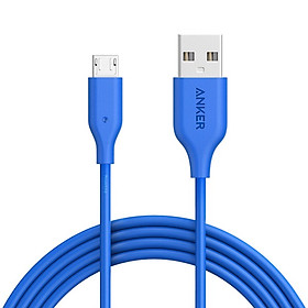 Cáp sạc ANKER PowerLine Micro USB Dài 1.8m Hàng chính hãng - A8133