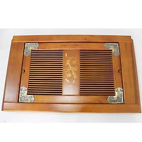 Khay gỗ đựng ấm chén 57(cm)x36(cm) MNV-TS225