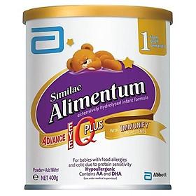 Similac Alimetum 400g dành cho trẻ dị ứng đạm sữa bò