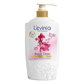 Sữa Tắm L'evinia Trắng Mịn & Trẻ Hóa Da Collagen++ 700g - TẶNG 1 Nước Hoa L'evinia Thời Trang Cao Cấp (mùi ngẫu nhiên)