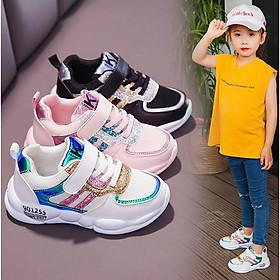 Giày cho bé gái phong cách hàn quốc size từ 4 đến 15 tuổi đế mềm siêu nhẹ