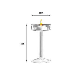 Candle Stick Set Party Wedding 11cm / 15cm / 17cm Glass Creative Creative
