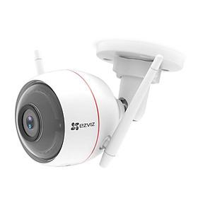 Camera IP Wifi ngoài trời EZVIZ C3W 1080P - ban đêm có màu - đàm thoại 2 chiều - Có đèn và còi báo động - hổ trợ thẻ nhớ lên đến 256G - hàng nhập khẩu